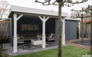 Inrichting Woodpro-tuinhuis T48o