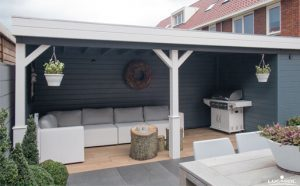 inrichting Woodpro-tuinhuis TP50o